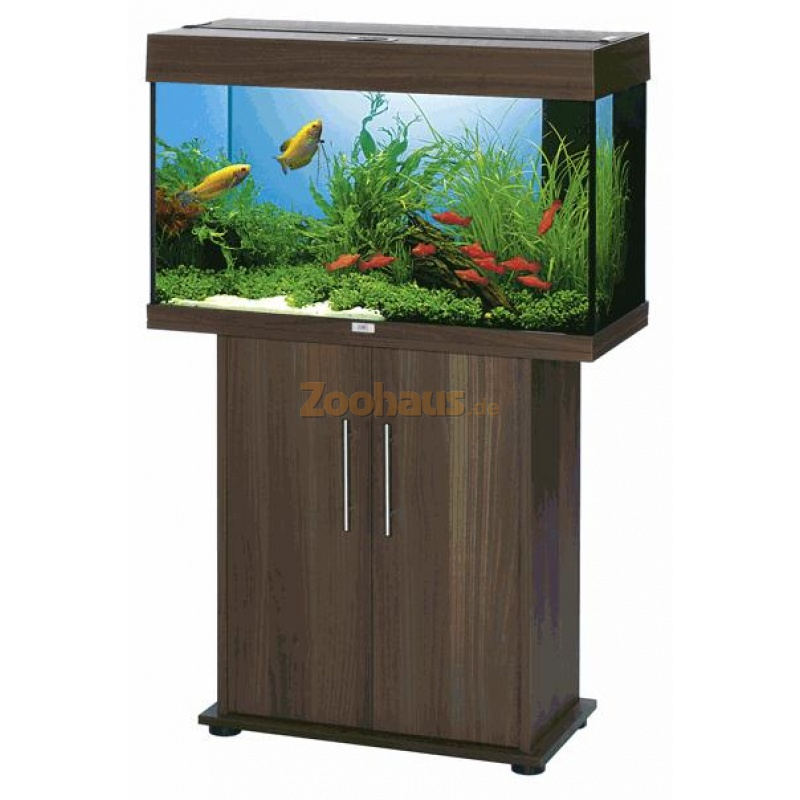 Juwel aquarium schrank kombination rio 125 dunkelbraun for Aquarium schrank