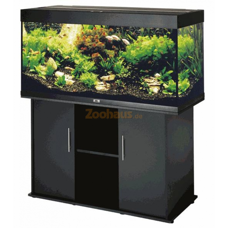 juwel aquarium schrank kombination rio 300 schwarz 645 00. Black Bedroom Furniture Sets. Home Design Ideas
