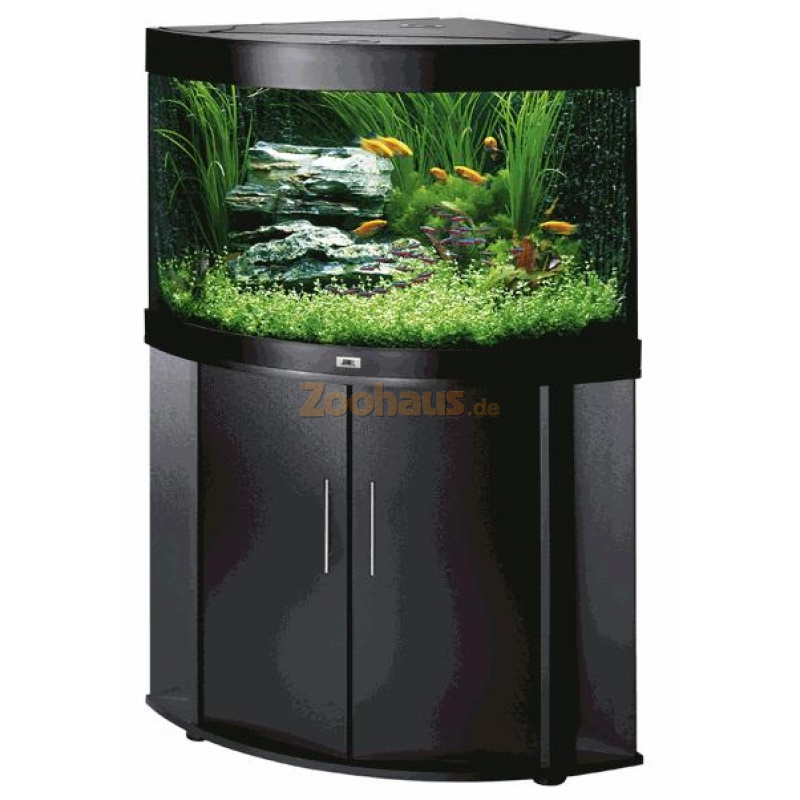 Juwel aquarium schrank kombination trigon 190 schwarz for Aquarium schrank