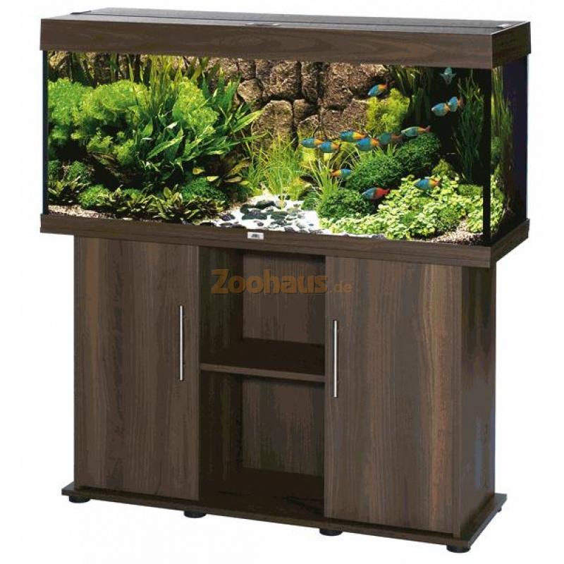 juwel aquarium schrank kombination rio 240 dunkelbraun. Black Bedroom Furniture Sets. Home Design Ideas