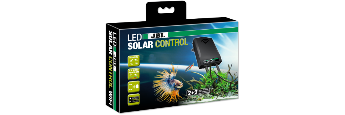 Ab sofort verfügbar: JBL LED Solar Steuerung mit App (iOS & Android) über WiFi -