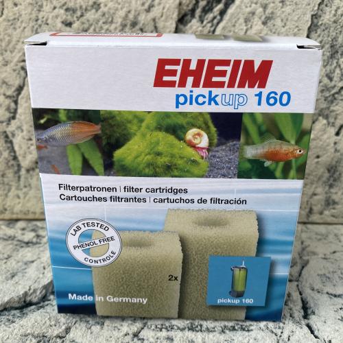 Filterpatrone für Eheim pickup 160 und 2010 (2 Stück)