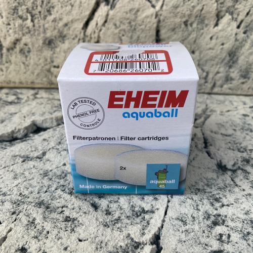 Filterpatrone für Eheim aquaball 45 und biopower 160 / 200 / 240 (2 Stück)