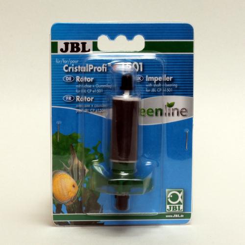 JBL Rotor-Set für CristalProfi e1501 und e1502 mit Achse und Gummilager