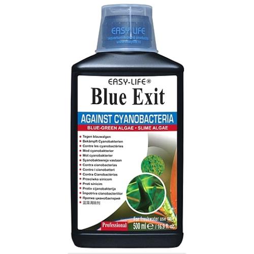 Easy Life - Blue Exit gegen Blaualgen (Cyanobakterien), Schleim, Schlier und Bartalgen 500ml