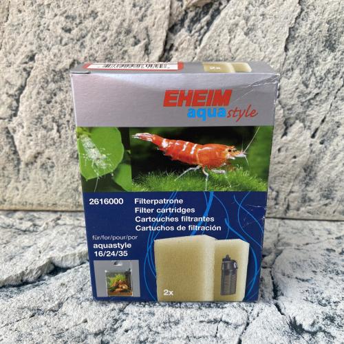 Filterpatrone für EHEIM aquastyle 16, 24, 35 (2 Stück)