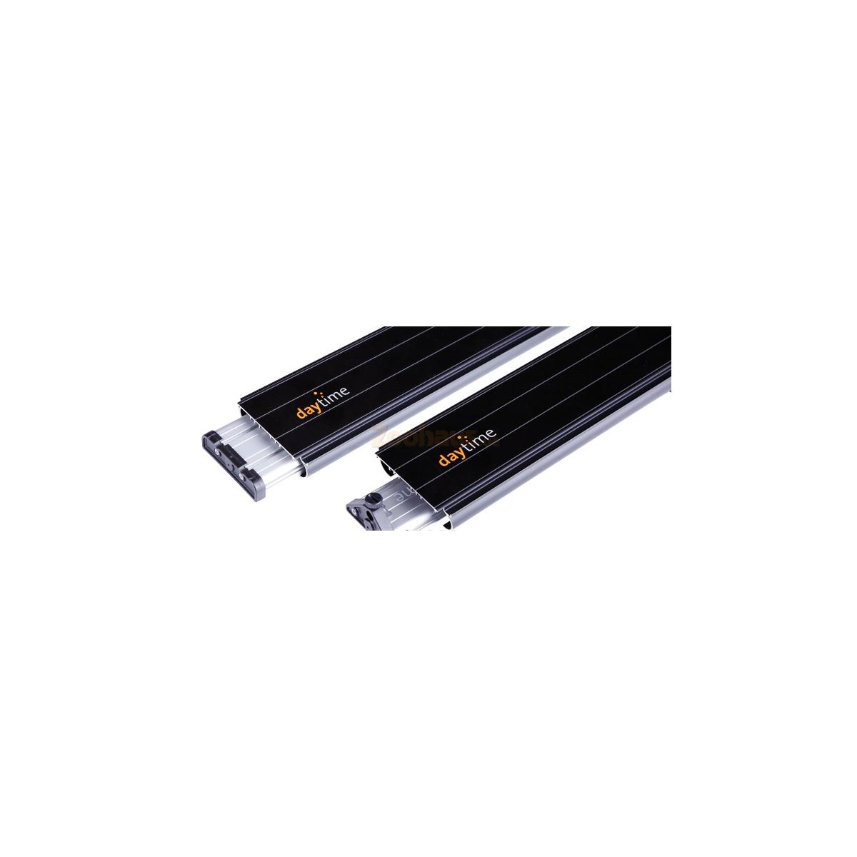 LED Eco und Cluster Aluminium-Profil für Eheim und Juwel Aquariumabdeckungen Adapter-Profil Juwel 55 - Trigon 350 (hinten)