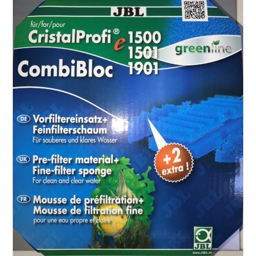 JBL CombiBloc Vorfiltereinsatz für CristalProfi Außenfilter e1500 e1501 e1901