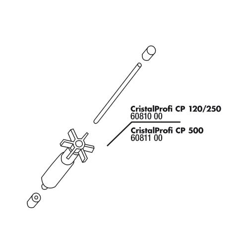 JBL CristalProfi 120/250 Rotor Set