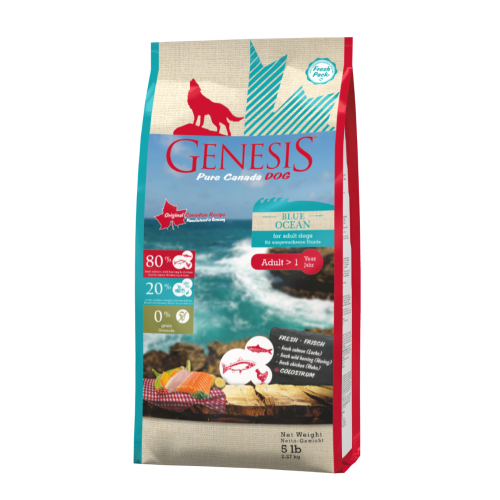 Genesis Hundefutter Pure Canada Dog - Blue Ocean für ausgewachsene Hunde 2,268 kg