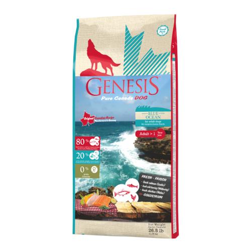 Genesis Hundefutter Pure Canada Dog - Blue Ocean für ausgewachsene Hunde 11,79 kg