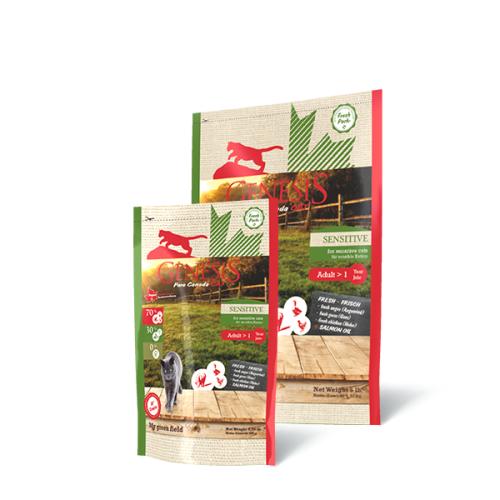 Genesis Pure Canada Cat - My green field (Sensitive) für sensible Katzen