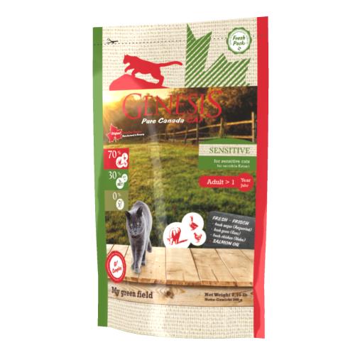 Genesis Pure Canada Cat - My green field (Sensitive) für sensible Katzen 340 g