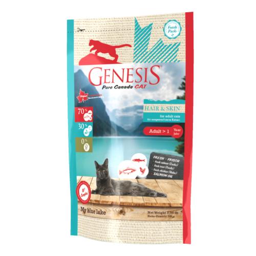 Genesis Pure Canada Cat - My blue lake (Hair & Skin) für ausgewachsene Katzen 340 g