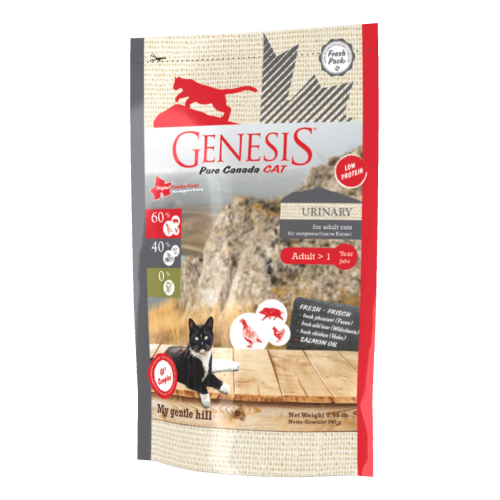 Genesis Pure Canada Cat - My gentle hill (Urinary) für ausgewachsene Katzen 340 g