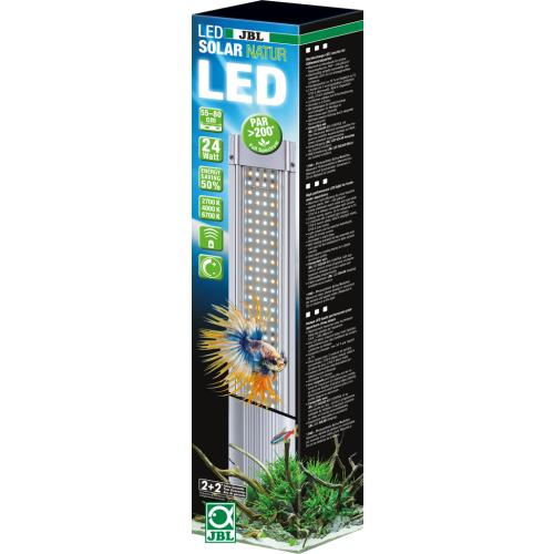 JBL LED Solar Natur 24W, 495mm - Hochleistungs-LED Leuchte für Süßwasseraquarien