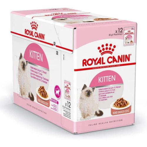 Royal Canin KITTEN in Soße 12 x 85g Beutel