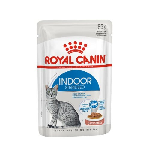Royal Canin INDOOR Sterilised in Soße 12 x 85g Beutel