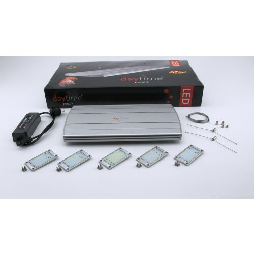 daytime pendix LED System pendix90 silber