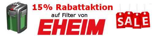 15% Rabatt auf alle EHEIM-Produkte